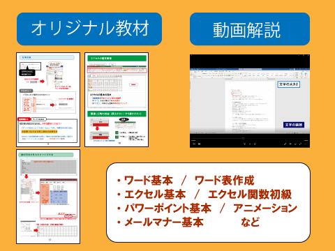 松戸のオフィス学習教材の提供